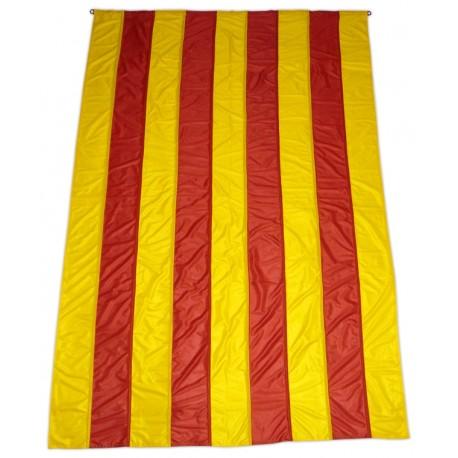 Bandera catalana - senyera gegant màstil