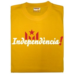 Samarreta groga Independència!