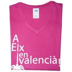 Samarreta noia Ús Oficial del Valencià a Elx