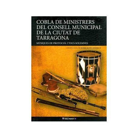 Llibre Cobla de Ministrers del Concell Municipal de Tarragona