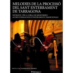 Llibre Melodies de la processó del sant enterrament de TGN