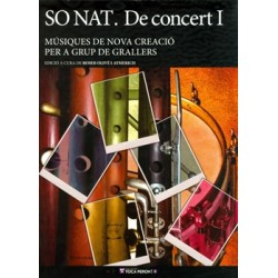 Llibre So Nat. De concert I