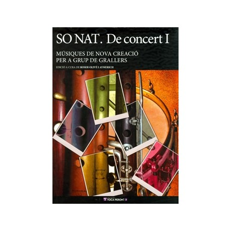 llibre musiques de nova creacio per a grups de grallers