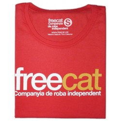 Samarreta noia Freecatalonia Freecat