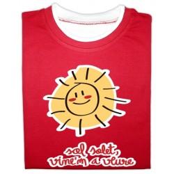 Samarreta bicolor màniga llarga Sol solet