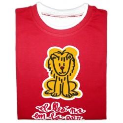 Samarreta bicolor màniga llarga El lleó no em fa por