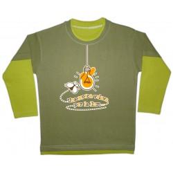 Samarreta bicolor màniga llarga Una mosca...