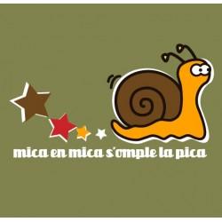 Samarreta bicolor màniga llarga Mica a mica