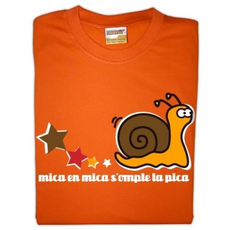 Samarreta infantil Mica en mica...