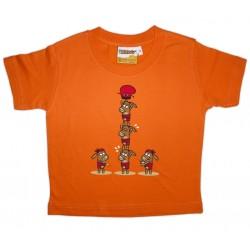 Samarreta infantil castellers burrets