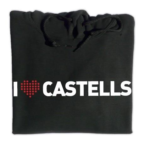 Dessuadora caputxa I love castells