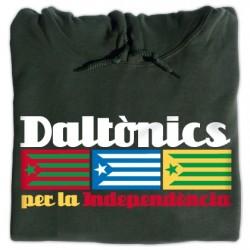 Dessuadora caputxa Daltònics per la Independència