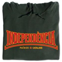 Dessuadora caputxa Independència estil Lonsdale