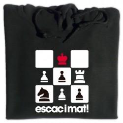 Dessuadora caputxa Escac i mat al rei!