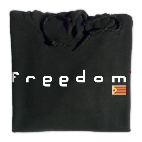 Dessuadora caputxa Freedom negra