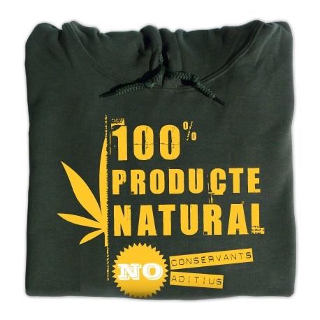 Dessuadora caputxa 100% Natural