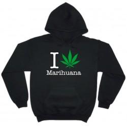 Dessuadora I love Marihuana