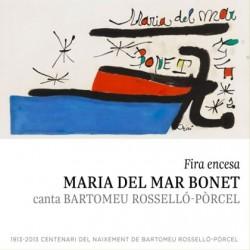 CD Maria del Mar Bonet - Fira encesa