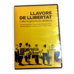 """DVD reportatge """"Llavors de llibertat. Cala i la generació oblidada"""""""