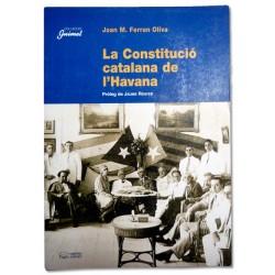 Llibre La Constitució catalana de l'Havana