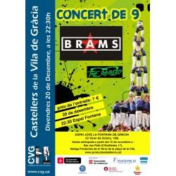 Entrada per al Concert de 9 (Castellers de la Vila de Gràcia)