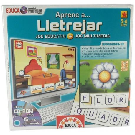 Joc Educa multimedia Aprenc a... lletrejar