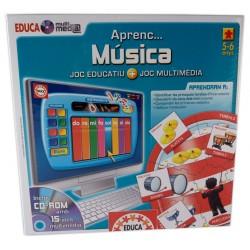 Joc Educa multimedia Aprenc... música