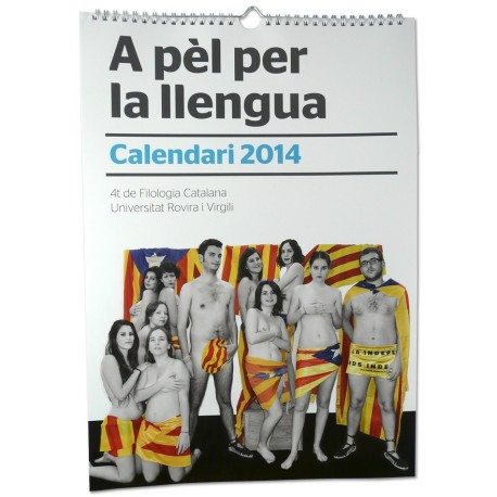 Calendari A pèl per la llengua