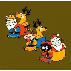 Samarreta infantil Els Reis VS Pare Noel