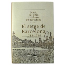 Llibre El setge de Barcelona 1713-1714