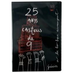 DVD 25 anys de Castells de 9 de la Colla Vella dels Xiquets de Valls