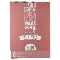 Calendari Colla Vella 2014