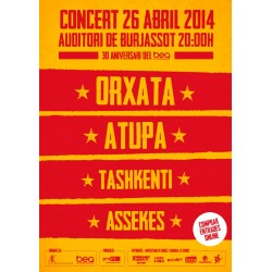 Entrada Concert 26 Abril