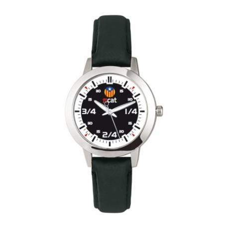 Rellotge Dona Quarts de Tres Estelada Blava