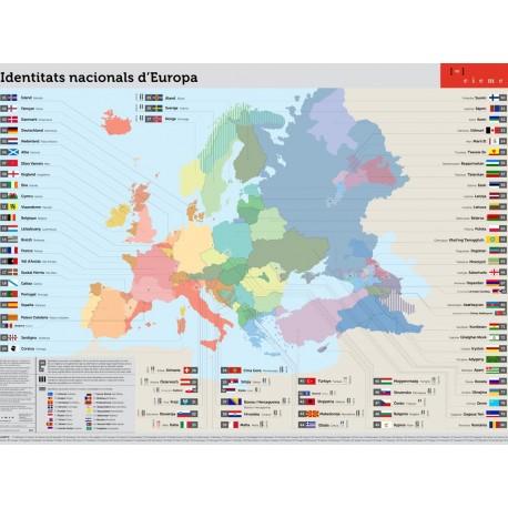 Póster identitats nacionals d'Europa