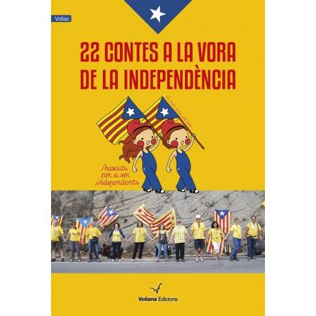 """Llibre """"22 contes a la vora de la Independència"""""""