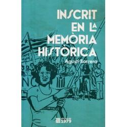 """Llibre """"Inscrit en la memòria històrica"""""""