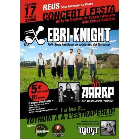 Entrada concert Ebri Knight + Arrap + DJ OGT a Reus
