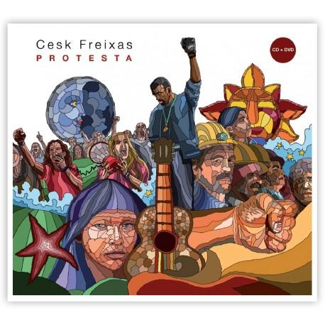 """CD+DVD Cesk Freixas """"Protesta"""""""