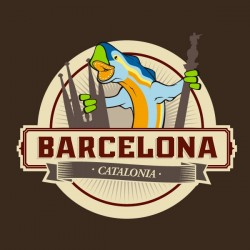 Samarreta Barcelona Drac