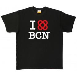 Samarreta I love BCN