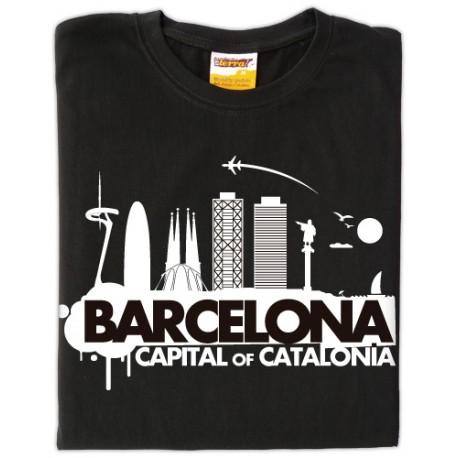 Samarreta Barcelona - Catalonia - ProductesdelaTerra.CAT 0d8cf37f47b