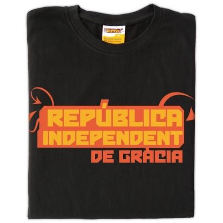 Samarreta República independent de Gràcia