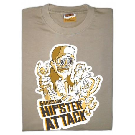 Samarreta Barcelona Hipster Attack - ProductesdelaTerra.CAT 27b25358b85