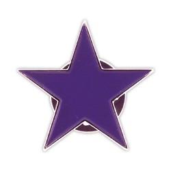 Pin Estrella violeta