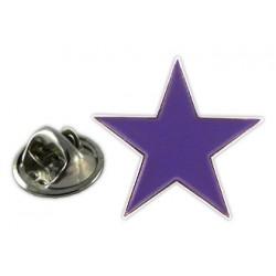Pin Estrella violeta feminisme