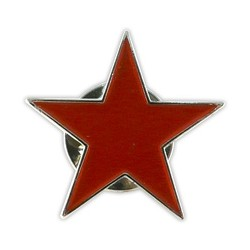 Pin Estel roig