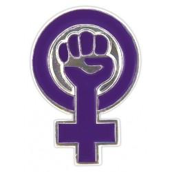 Pin símbol feminista
