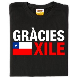 Samarreta Gràcies Xile