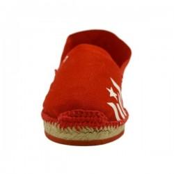 Espardenya espardenyat estelada vermella